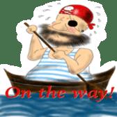 Pirate - A-Fu sticker #350652
