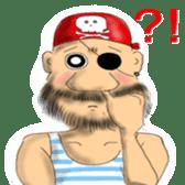 Pirate - A-Fu sticker #350658