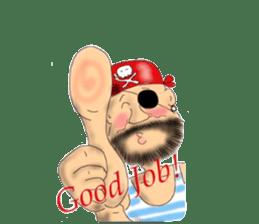 Pirate - A-Fu sticker #350663