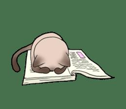 Happy Por-Poh Cat sticker #350826