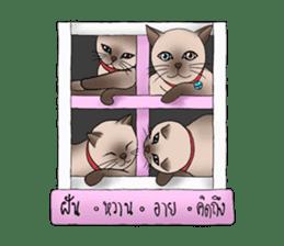 Happy Por-Poh Cat sticker #350842