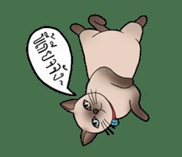 Happy Por-Poh Cat sticker #350847