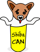 Shiba CAN and Tora CAN 4th (Eng) sticker #351170