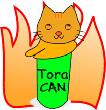 Shiba CAN and Tora CAN 4th (Eng) sticker #351177