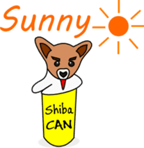 Shiba CAN and Tora CAN 4th (Eng) sticker #351180