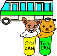 Shiba CAN and Tora CAN 4th (Eng) sticker #351184