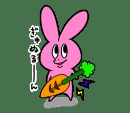 Nurunuru Usagi sticker #351256