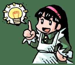 Alice in science sticker #351511