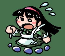 Alice in science sticker #351512