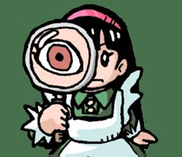 Alice in science sticker #351513