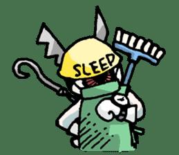 Alice in science sticker #351535