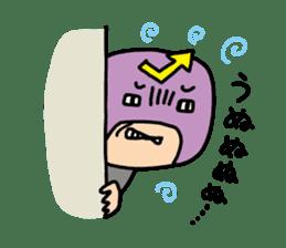 Masked businessman Sticker sticker #352026