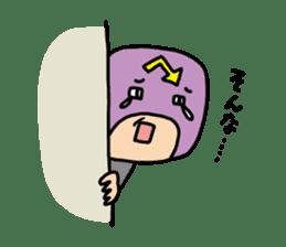 Masked businessman Sticker sticker #352028