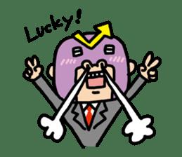 Masked businessman Sticker sticker #352039