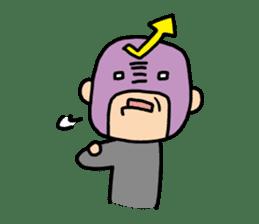 Masked businessman Sticker sticker #352042