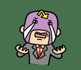 Masked businessman Sticker sticker #352051