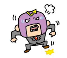 Masked businessman Sticker sticker #352053