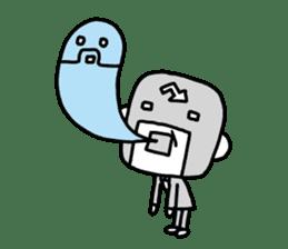 Masked businessman Sticker sticker #352061