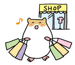 Hamster of my home sticker #352354