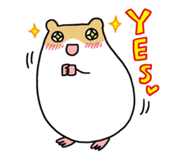 Hamster of my home sticker #352355