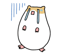 Hamster of my home sticker #352356