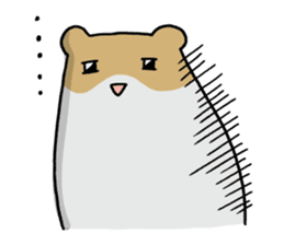 Hamster of my home sticker #352363