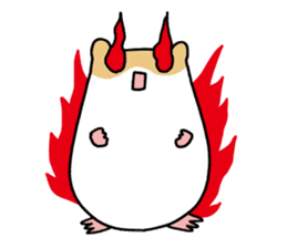 Hamster of my home sticker #352364