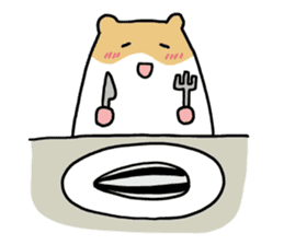 Hamster of my home sticker #352367