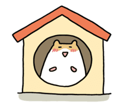 Hamster of my home sticker #352368
