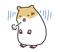 Hamster of my home sticker #352371