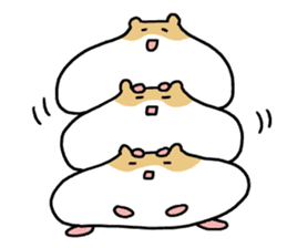 Hamster of my home sticker #352377