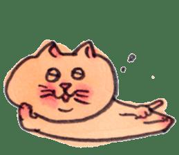 momo cat stamp sticker #352986