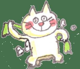momo cat stamp sticker #352989