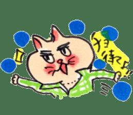 momo cat stamp sticker #352991
