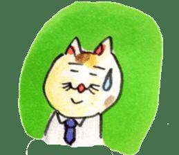 momo cat stamp sticker #352997