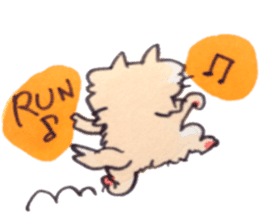 momo cat stamp sticker #353001
