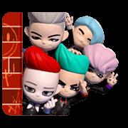 สติ๊กเกอร์ไลน์ BIGBANG 'GO Blings'
