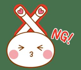 Sentaku Usagi sticker #353306