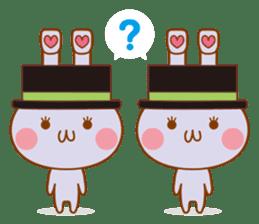 Sentaku Usagi sticker #353316