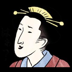 Ukiyo-e stamp