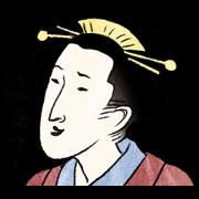 สติ๊กเกอร์ไลน์ Ukiyo-e stamp