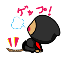 NINJA NEGOROH and NIOHMARU a frog sticker #354435