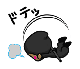 NINJA NEGOROH and NIOHMARU a frog sticker #354458