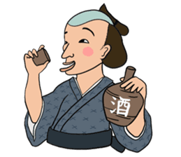 Awesome Stamps of Edo Period sticker #355463