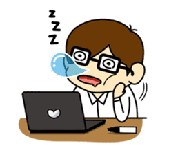 Daily Lives of programmer sticker #356470