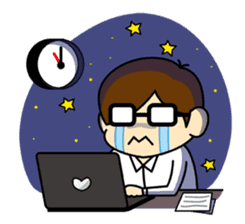 Daily Lives of programmer sticker #356475