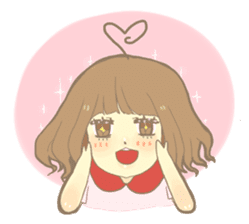 Apple-chan and friends sticker #356829