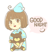 Apple-chan and friends sticker #356856