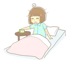 Apple-chan and friends sticker #356857