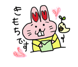 momoiro rabbit sticker #357347
